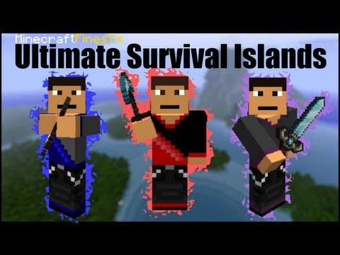 Minecraft Ultimate Survival Islands Part 10: DANNY RAGE