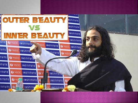 inner beauty speech There are two types of beauty in the world today inner beauty and physical beauty and the best way to judge a person is by their inner beauty people shouldn't.