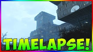 Fallout 4 - Spectacle Island Base Building Timelapse (Building With Mods)