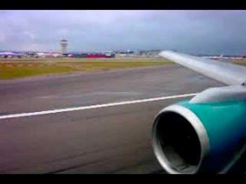 First Choice Airways B757 Takeoff