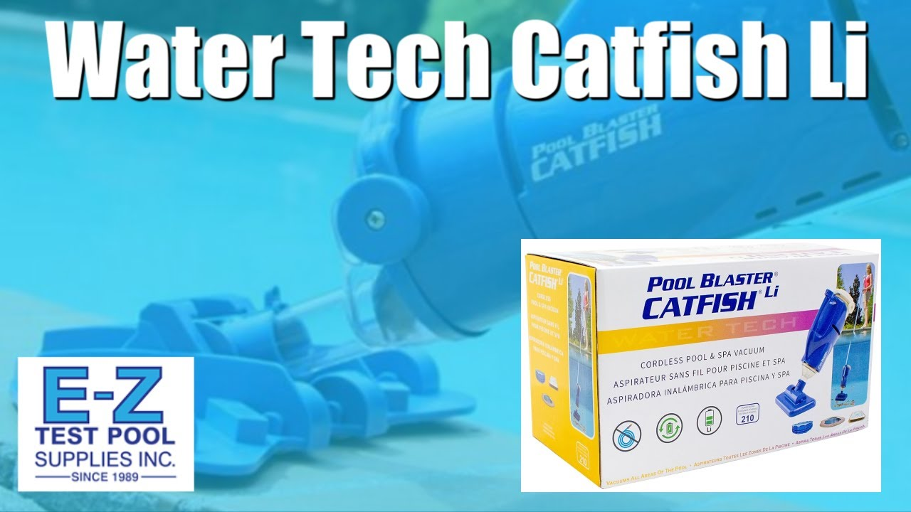 Water Tech Pool Blaster Catfish Li Youtube