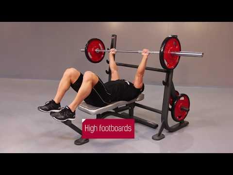 1FE203 – Olympic flat bench