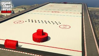 INCREIBLE!! AIR HOCKEY!! - GTA V ONLINE