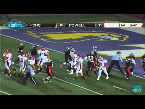 Henry County's First Touchdown With 4 Powerful Plays