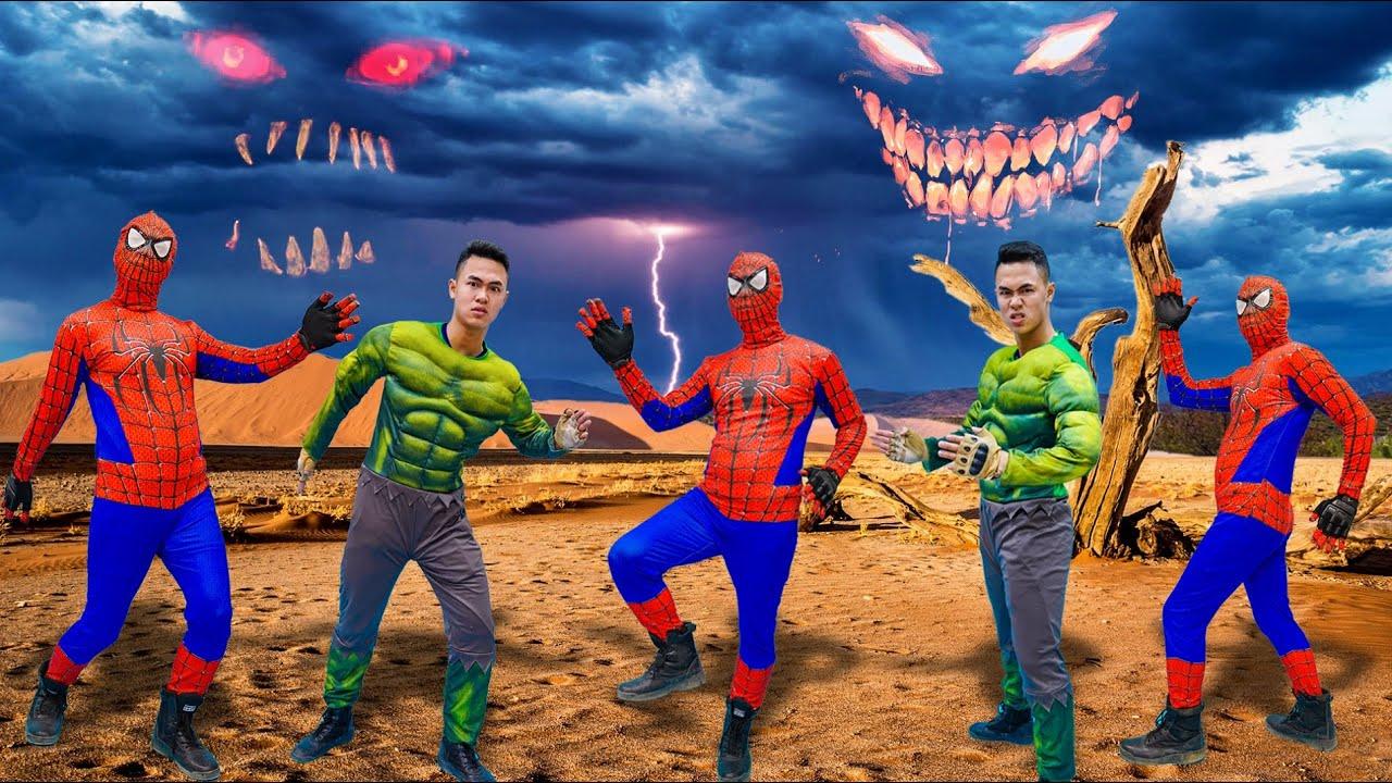 MKTD Nerf Wars : Captain Spiderman SEAL X Nerf Battle Gun Fight Criminal Group Rescue Hulk Hypnosis