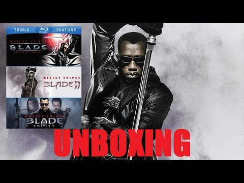unboxing:-blade-trilogy-on-bluray!---my-favorite-wesley-snipes-films-ever!