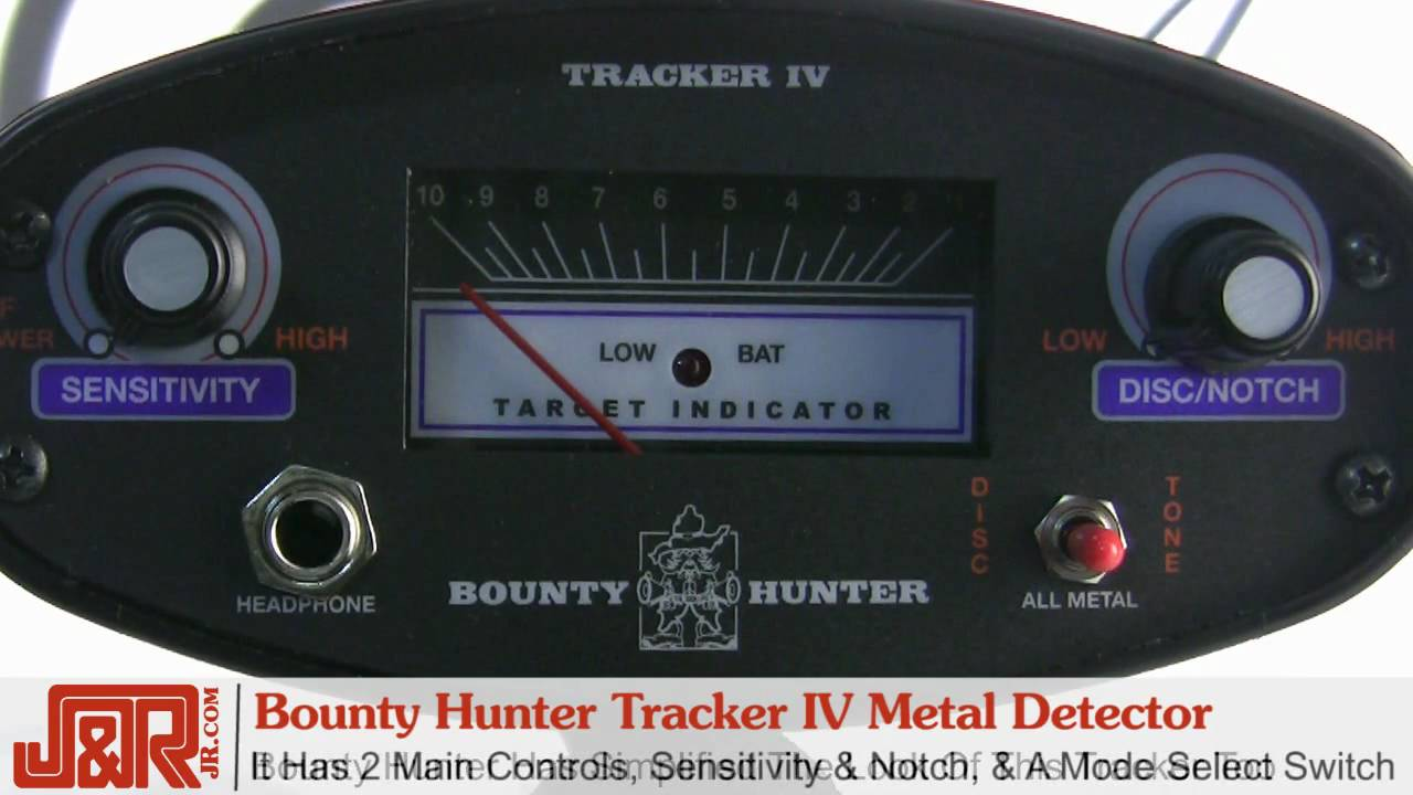 Bounty Hunter Tracker IV Metal Detector Review YouTube