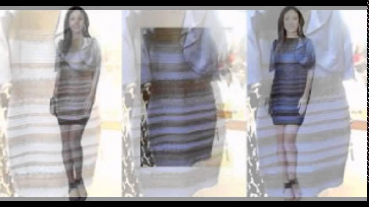 今話題のこのドレス何色に見えますか?白と金?それとも青と黒