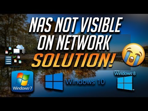 FIX NAS Drive NOT VISIBLE on Network Windows 10/8/7 [4 Solutions]