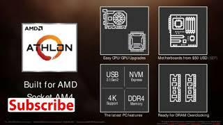 AMD ATHLON 200GE NEW PROCESSOR BUDGET PROCESSOR 2018
