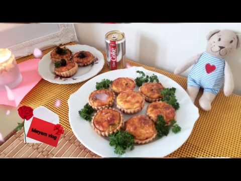 🥰-mini-quiches-aux-épinards,champignons-et-saumon-fumé🥰😊❤recette-préparée-amoureusement-🍽❤