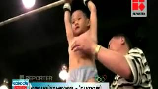 chines olympics 2012 raging child