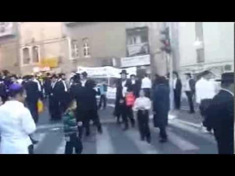 ירושלים: עצרת המחאה בכיכר השבת נגד המצעד