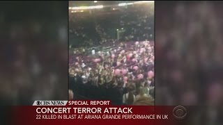 Manchester Terror Attack: 22 Dead At Ariana Grande Concert Blast