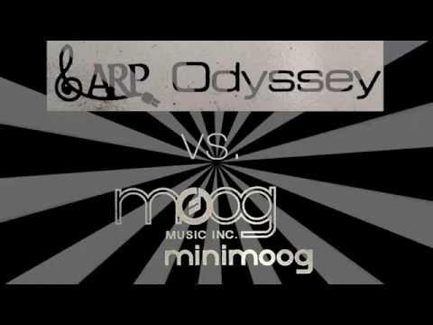 ARP Odyssey vs. Minimoog ROUND 2: The Rematch!