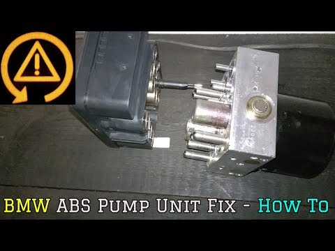 BMW Dynamic Stability Control Fault - Fixed - How To DIY