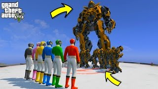 POWER RANGERS VS TRANSFORMERS PRIME BUMBLEBEE (GTA 5 Mods Funny Moments)(POWER RANGERS VS TRANSFORMERS PRIME BUMBLEBEE (GTA 5 Mods Funny Moments) Please help me reach 1000000 subscribers by clicking here ..., 2017-01-08T22:56:03.000Z)