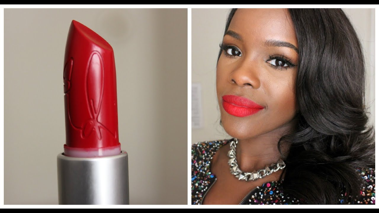 MAC RiRi Woo 1st look & Comparison - YouTube