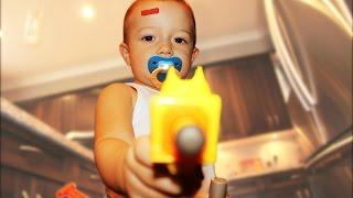 Nerf War: Gun BABY! thumbnail