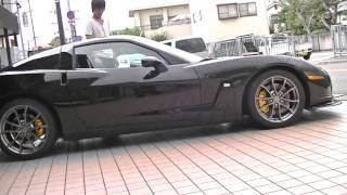 男性モデル登場 power passion precision l52 2005年モデル シボレー コルベット chevrolet corvette c6 c6 zr1 姫路