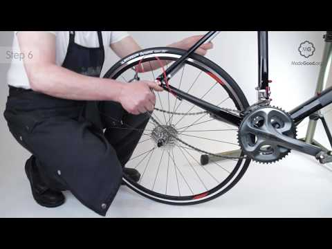 fix-a-puncture---remove-a-bike's-rear-wheel-with-quick-release-skewer