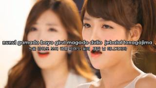 Video Tara & Davichi - We were in love Karaoke download MP3, 3GP, MP4, WEBM, AVI, FLV Maret 2018