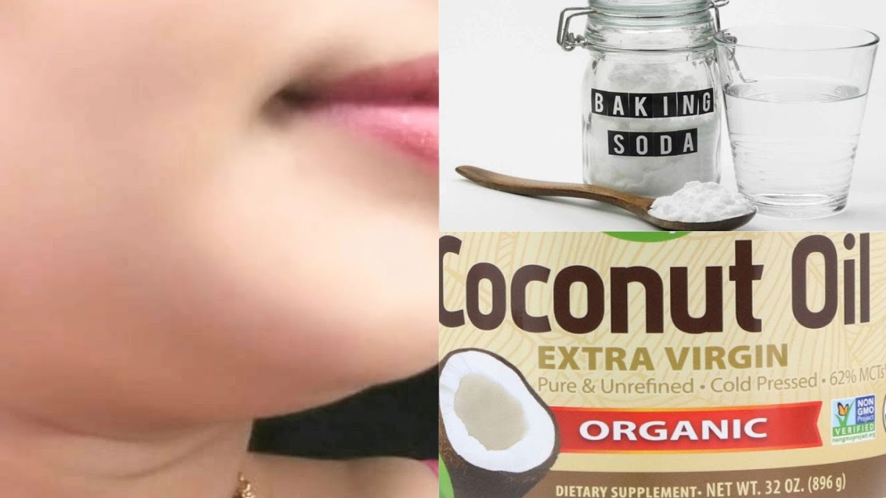 Every Night Apply Baking Soda Toothpaste Coconut Oil On The Face