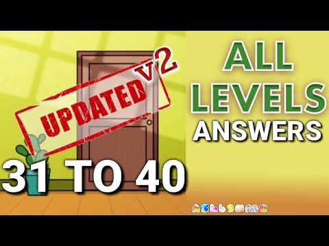 Escape Room Game Level 31 - 40 Mystery Word