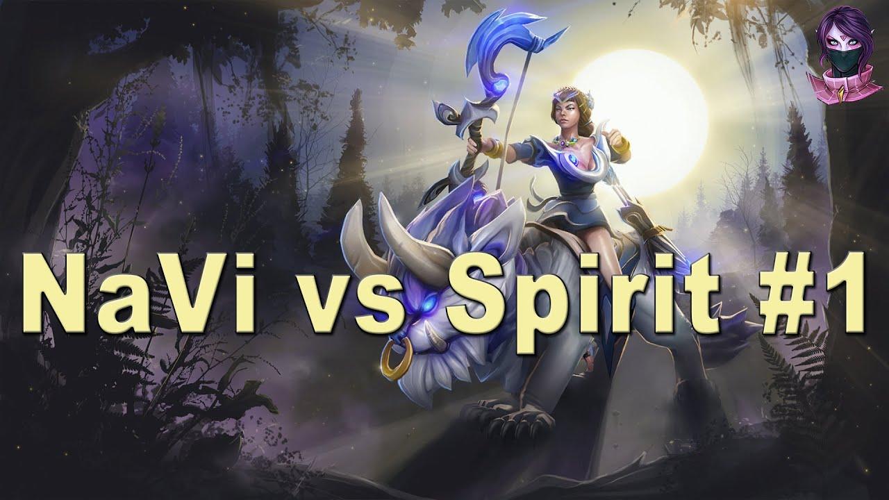 Download Dota 2 NaVi vs Team Spirit HighLights Game 1 | DreamLeague Season 5 (18.04.2016)