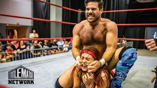 Joey Ryan vs Miranda Alize (Intergender Wrestling) - Queens of the Ring