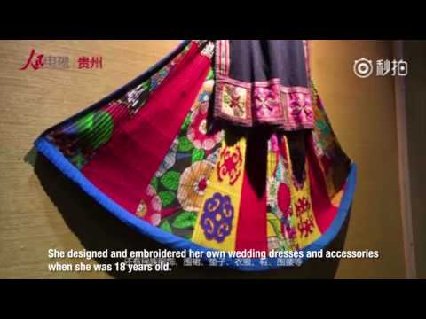 Traditional Chinese embroidery showcased to celebrate China's national culture and heritage