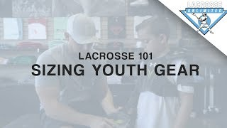 Sizing Youth Gear