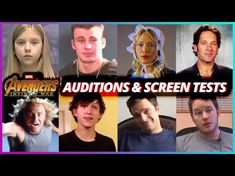 Avengers Infinity War Cast - Special Auditions & Screen Tests