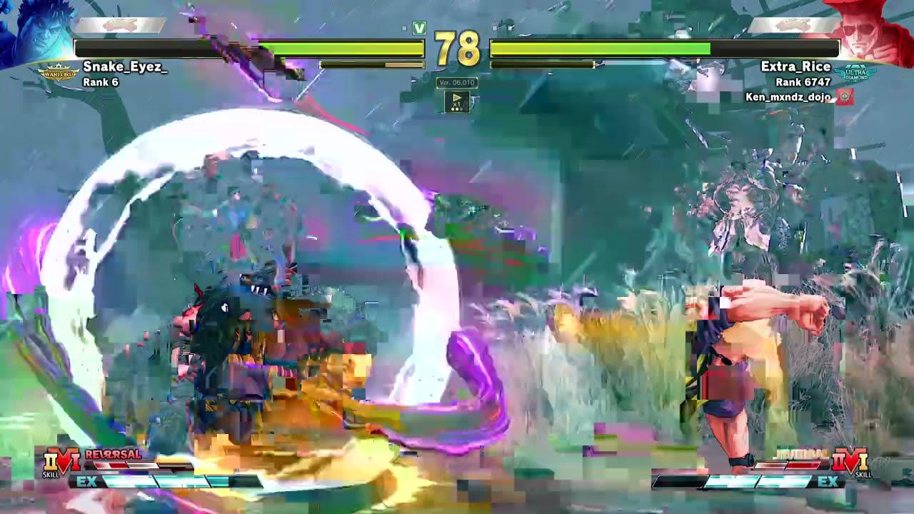 SFV ▶ Kage Combo Video【V-Shift PATCH】