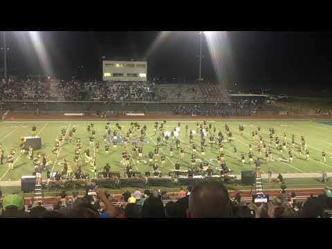 Tyler Jr. College Band 2018 (1st game of the season)