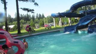 Cultus Lake Water Park - Full Tour - All Rides