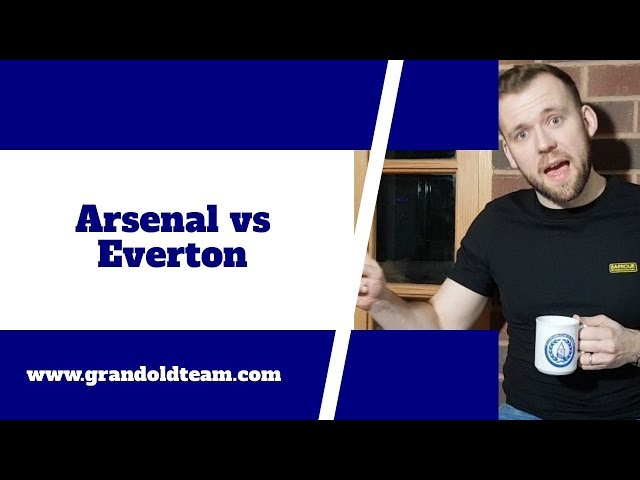 Time for Everton to end Arsenal (away) hoodoo