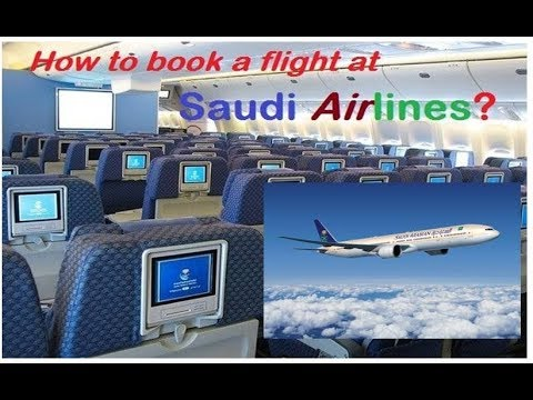 Saudi Airline | How to Book a Flight Online, Hassle Free Booking!!!