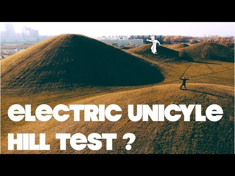 Electric Unicycle Hill Test !!! - Malmo Sweden