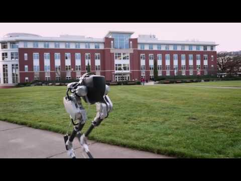 "A robot that walks like an ostrich designed to ""be the standard for legged autonomy"""
