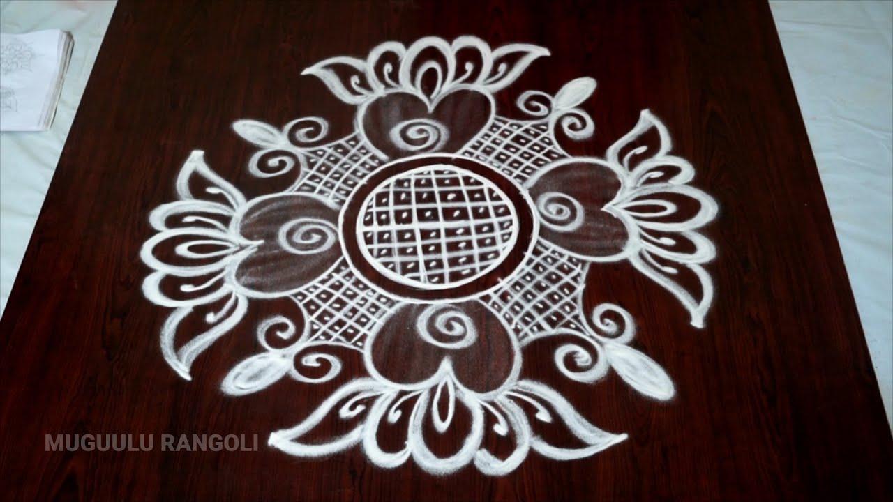 latest rangoli designs 2018 simple easy rangoli designs telugu muggulu without dots kolangal designs #1
