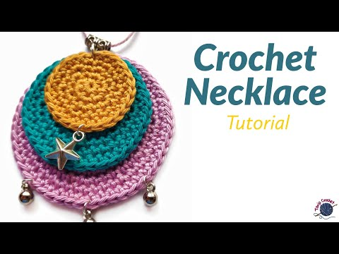 Circle Crochet Necklace Tutorial | Perfect Crochet Circle DIY