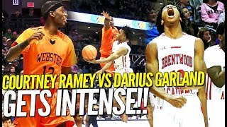 Point God Darius Garland vs Courtney Ramey Gets INTENSE at Bass Pro ToC!!