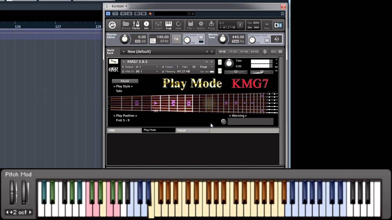 Kontakt 5 manual download - Kmg7 Manual 8 Play Mode