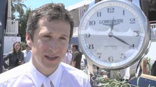 Longines Global Champions Tour 2013 - Cannes - Guillaume Canet exclusive interview