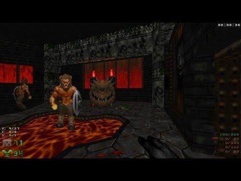 Alkylation [Doom II] Map 12 'Nightside of Eden' - UV-Max in 2:18