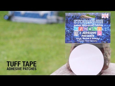 How To Instantly Repair Holes/Rips In Your Tent | CAMPING ESSENTIALS