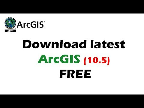ArcGIS 10.5 Free Downlaod - ArcGIS Download and Installation Complete Tutorial 2018