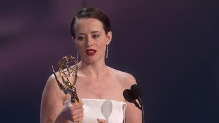 70th Emmy Awards: Claire Foy Wins For Outstanding Lead Actress In A Drama Series