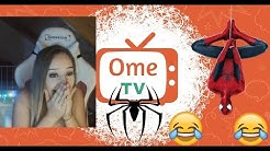Die Frauen und Spiderman 😂 😂 Ometv Deutsch Live Chat Reaktion #019